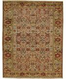 RugStudio presents Due Process Khyber Bidjar Cream-Gold Hand-Knotted, Best Quality Area Rug